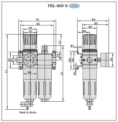 Dutta Control Gt Gt Filter Regulator Lubricators Regulator